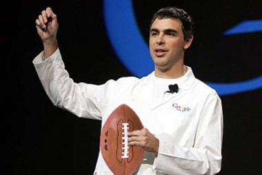 larry page football