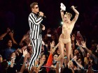 miley cyrus is not naked on the vmas