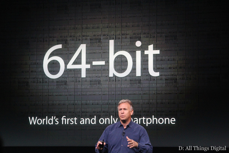 Apple's iPhone 5s, the A7 Chip, and That 64-Bit Question