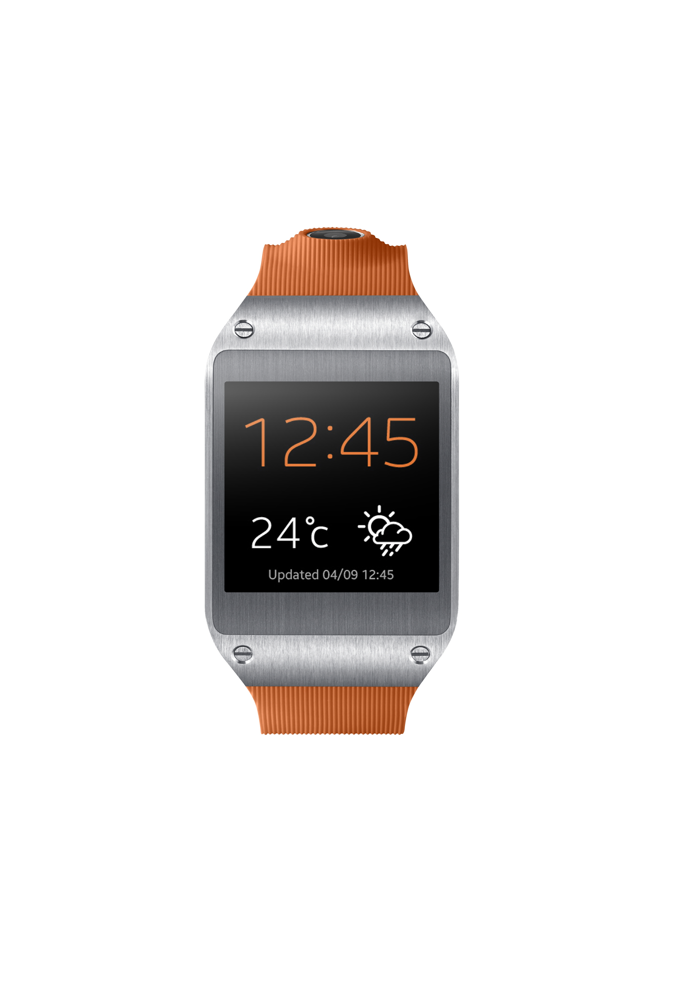 Samsung Unveils Android-based Galaxy Gear Smartwatch ...