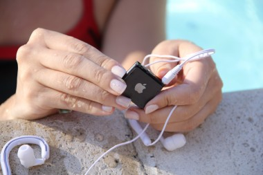 Underwater Audio iPod