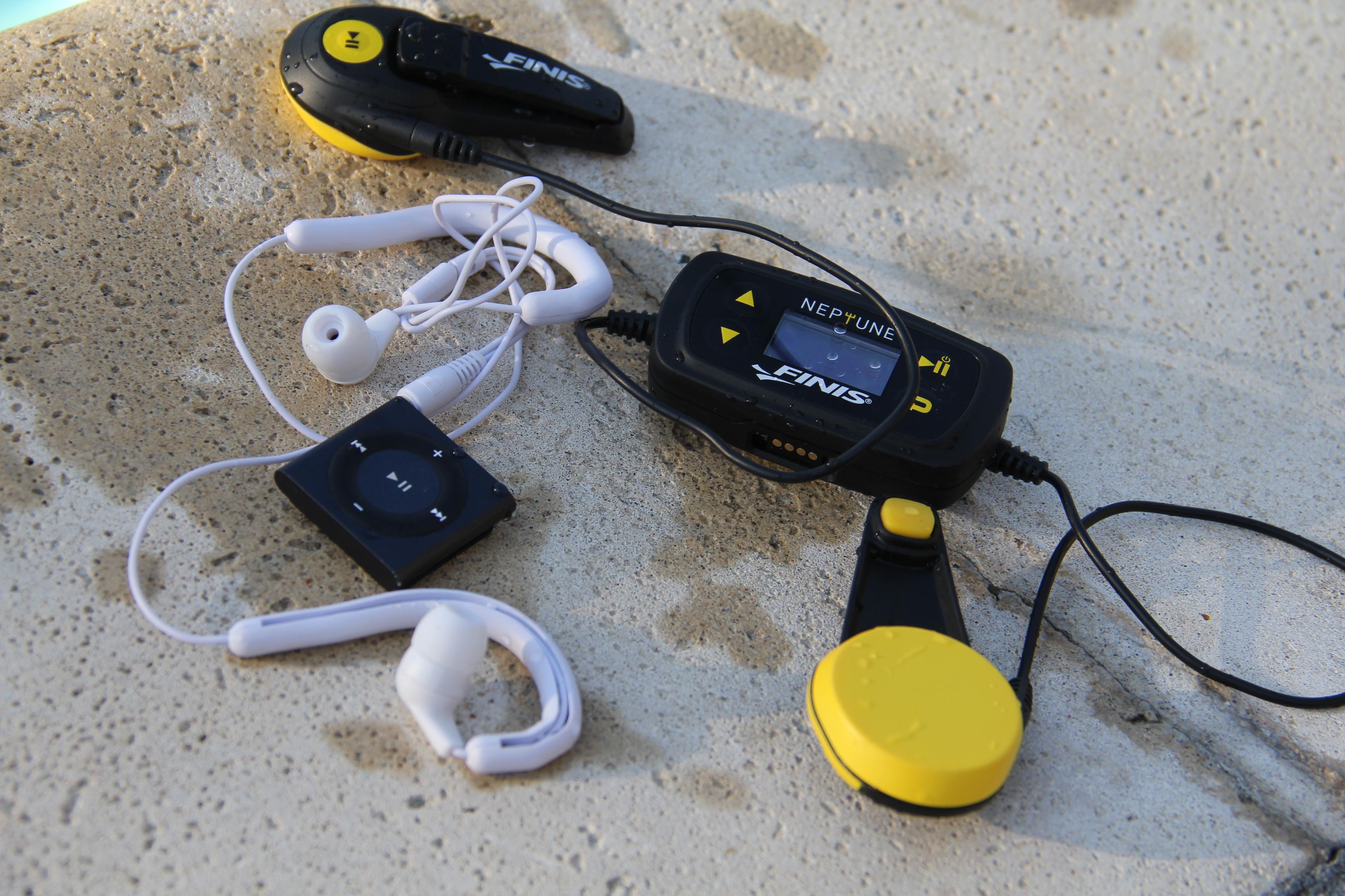 Lot of 5 Finis Neptune Underwater//Swimming Waterproof MP3 Player