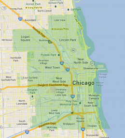 Instacart Chicago coverage area as of 9-17-13