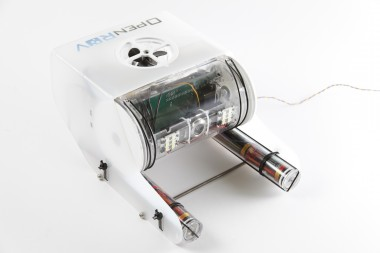 The new version of OpenROV, seen here, will be released next week.