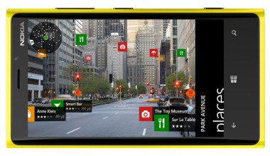 Nokia mapping app