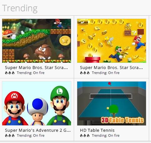 Fake Mario Games