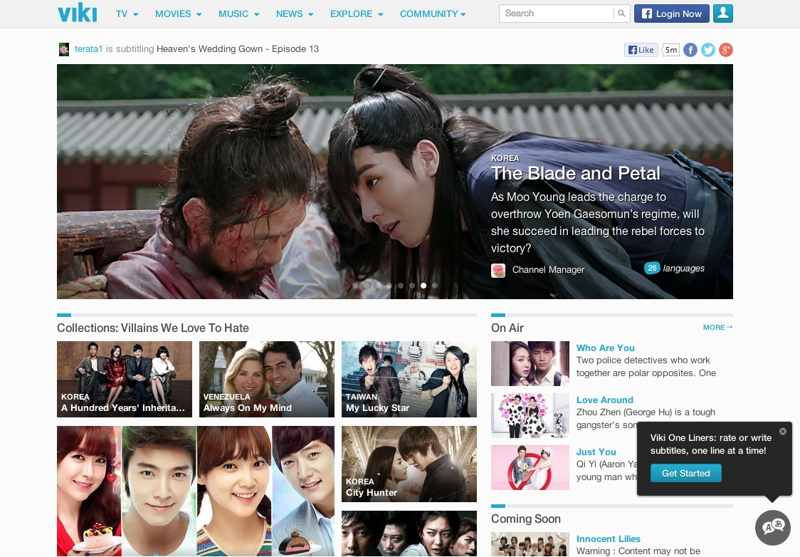 Japan's Rakuten Acquires Viki Video Site for $200 Million