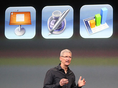 Apple to Offer iWork Apps for Free With New iOS Devices
