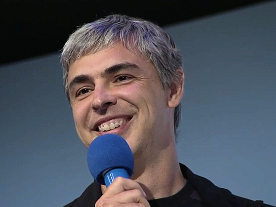 Larry Page's Dream for the Google Logo