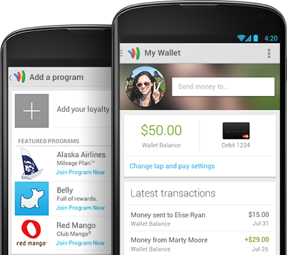 New Google Wallet App Moves Past NFC and to All Major Carriers. iPhone Version on Tap?