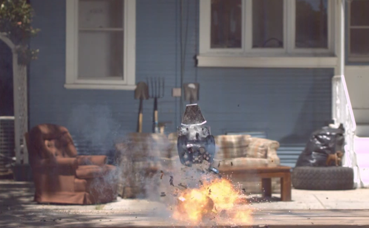 "Viral Video: $300 Game Console Blown Up in Fireworks ""Teardown"" … And Then Again, in Slow Motion"