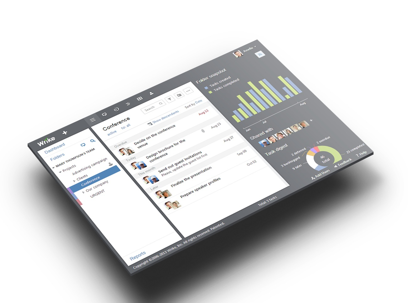 Wrike Raises $10M From Bain Capital for Project Management Tools