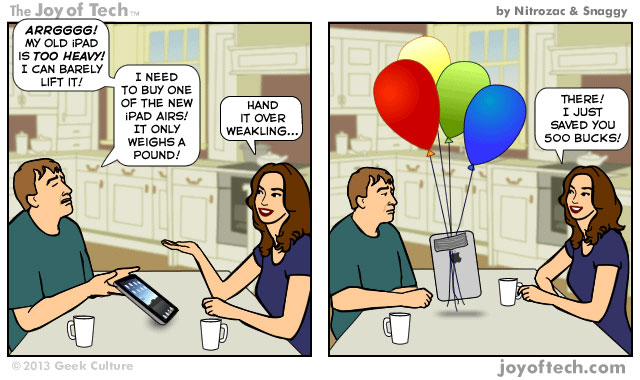 iPad Air (Comic) - Nitrozac and Snaggy - Voices - AllThingsD