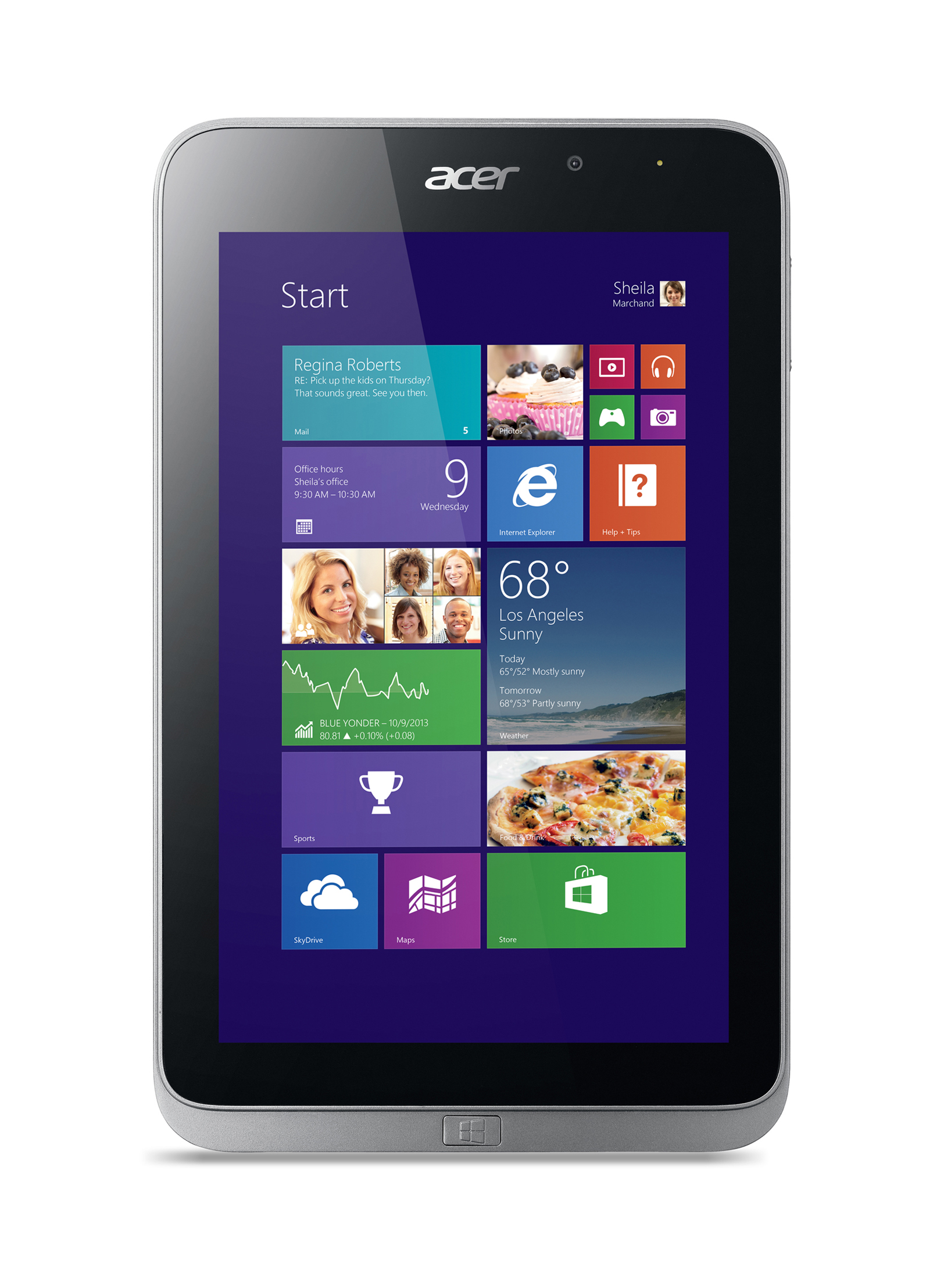 Acer Unveils Iconia W4 With Windows 8.1, Faster Processor