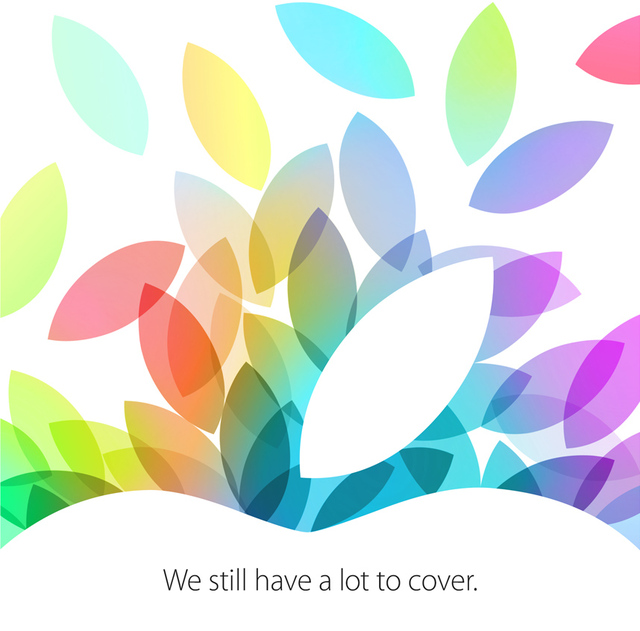 """Apple Announces October 22 Event: """"We Still Have a Lot to Cover"""""""
