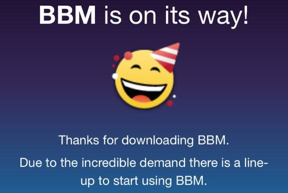 BlackBerry Messenger for iOS and Android Is Here