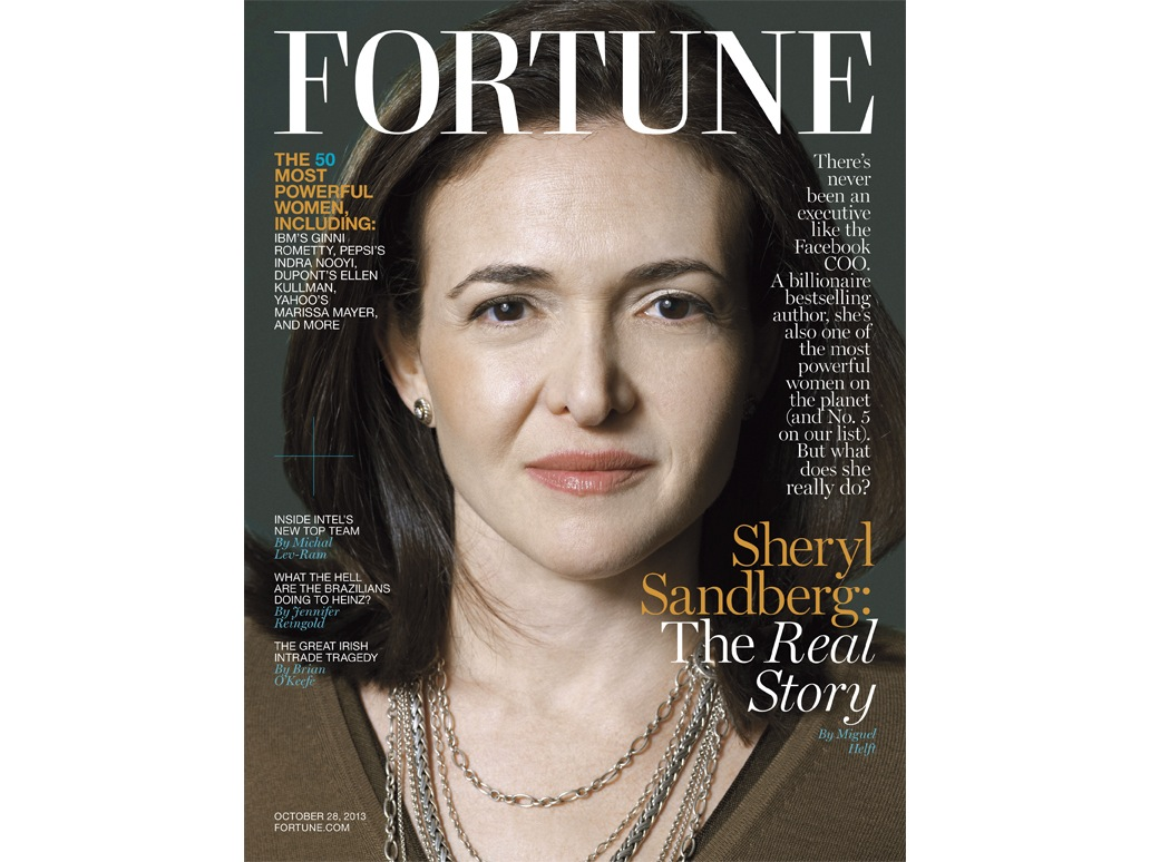 Fortune's Most Powerful Women List Has Lots of Tech Stars, With She-Can-Do-Anything Spotlight on Facebook's Sandberg