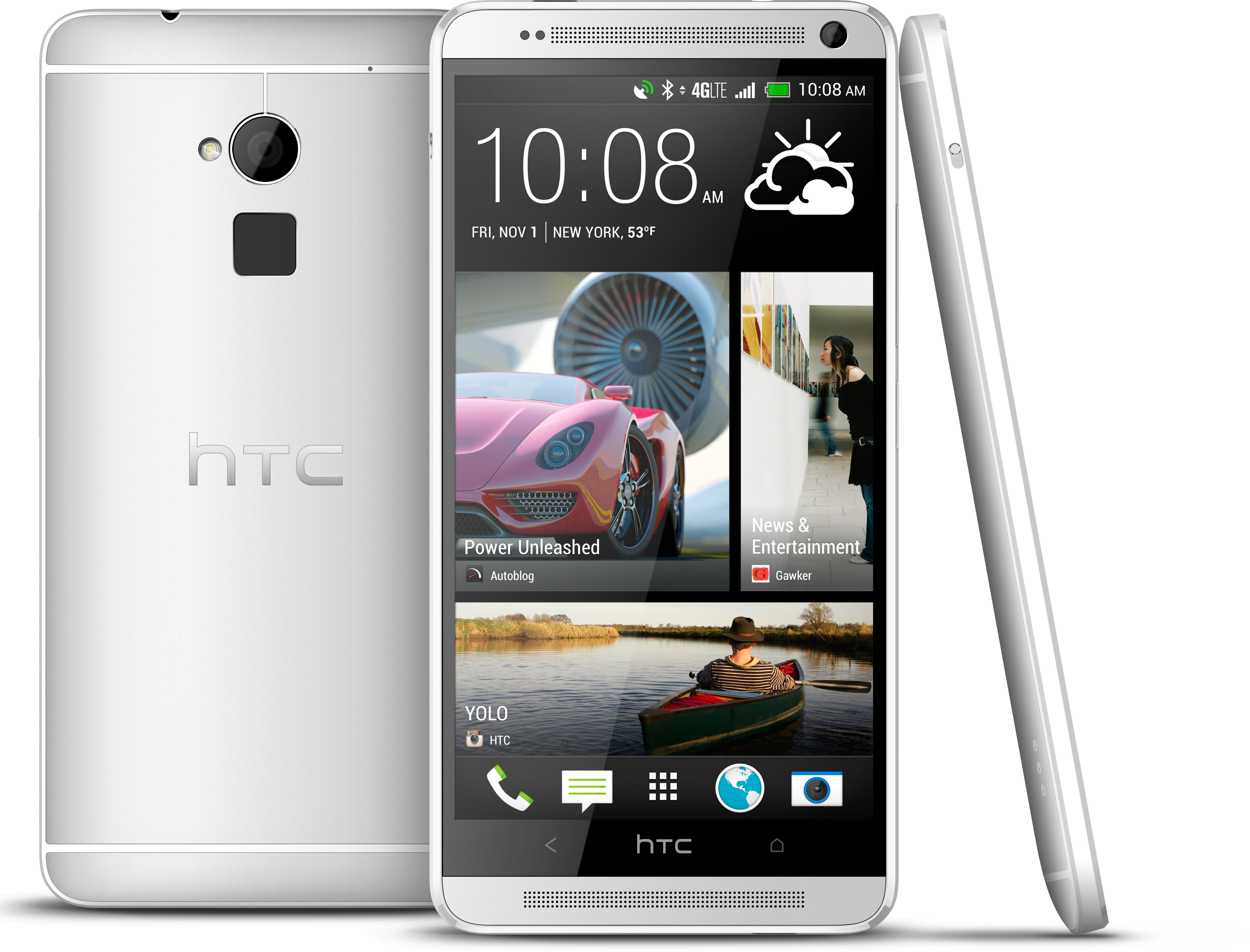 HTC Unveils Fingerprint-Reading One Max Phablet, Says Coming Later This Year to Verizon, Sprint