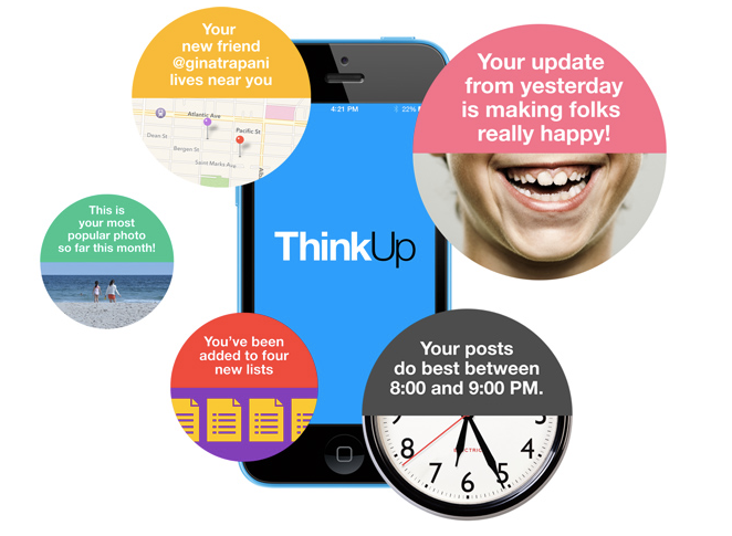 """With ThinkUp, Data Geeks Aim to Create the """"Quantified Selfie"""""""