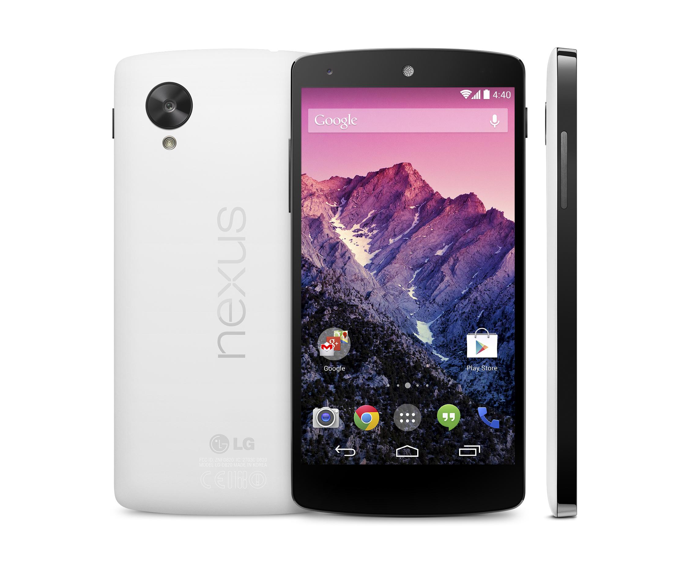 Google's New Nexus 5 Is the Googley-est Phone Yet