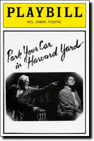 Park-Your-Car-in-Harvard-Yard-Playbill-11-91