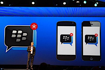BlackBerry Racks Up 20 Million New BBM Users in a Week