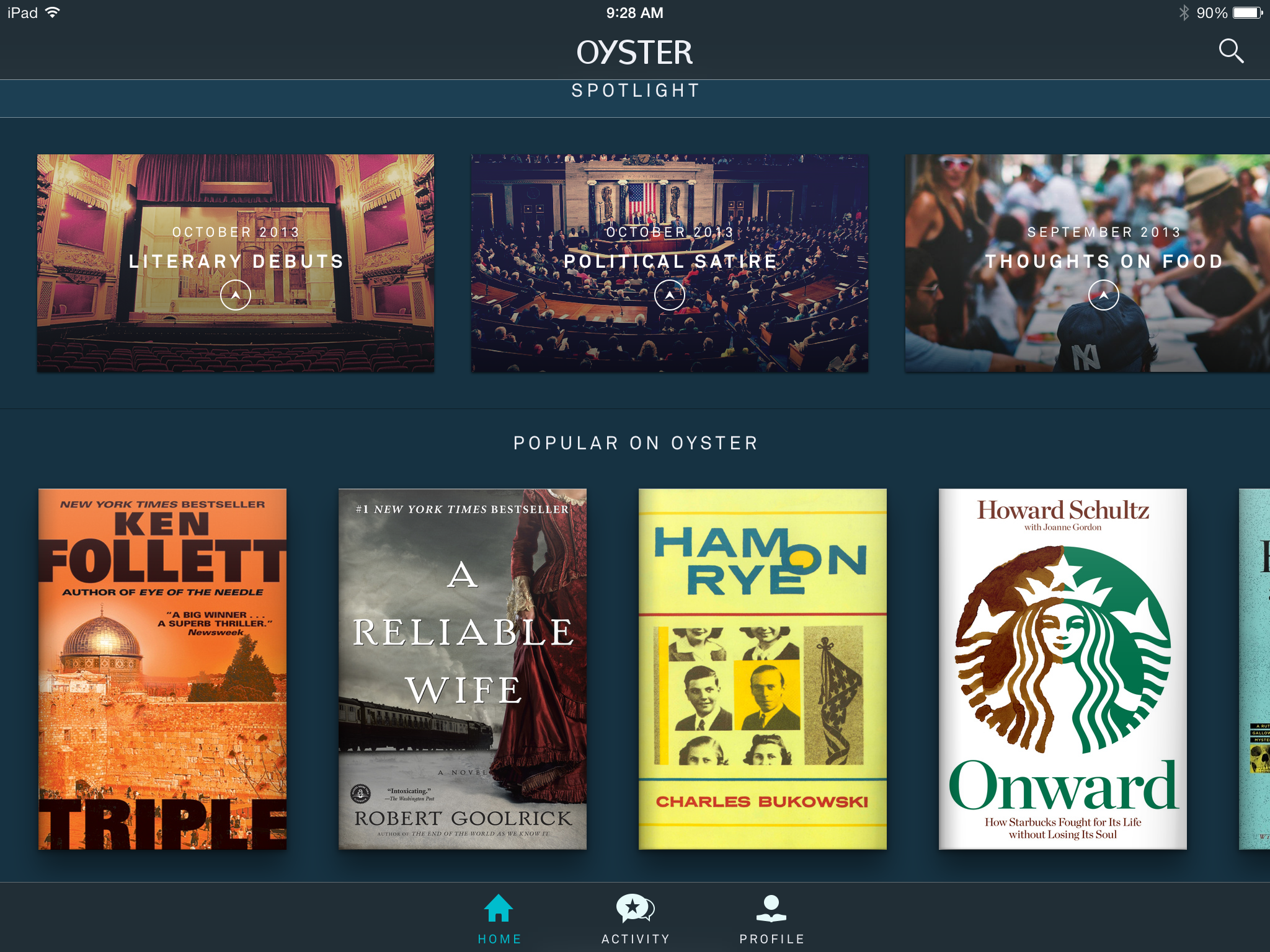 New E-Book Services Borrow a Page From Netflix