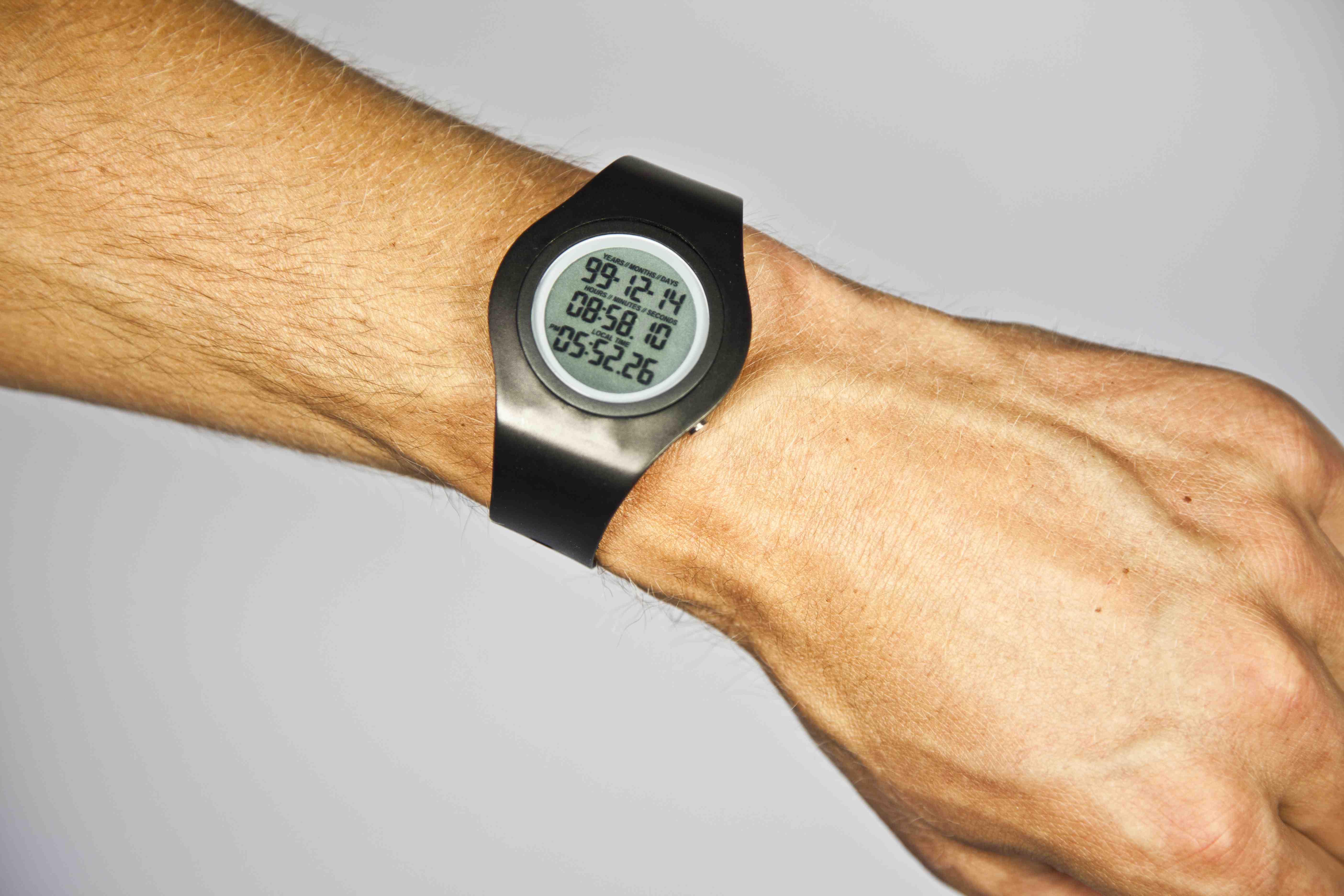 A Morbid Carpe Diem: Tikker Watch Counts Down Wearer's Life Expectancy