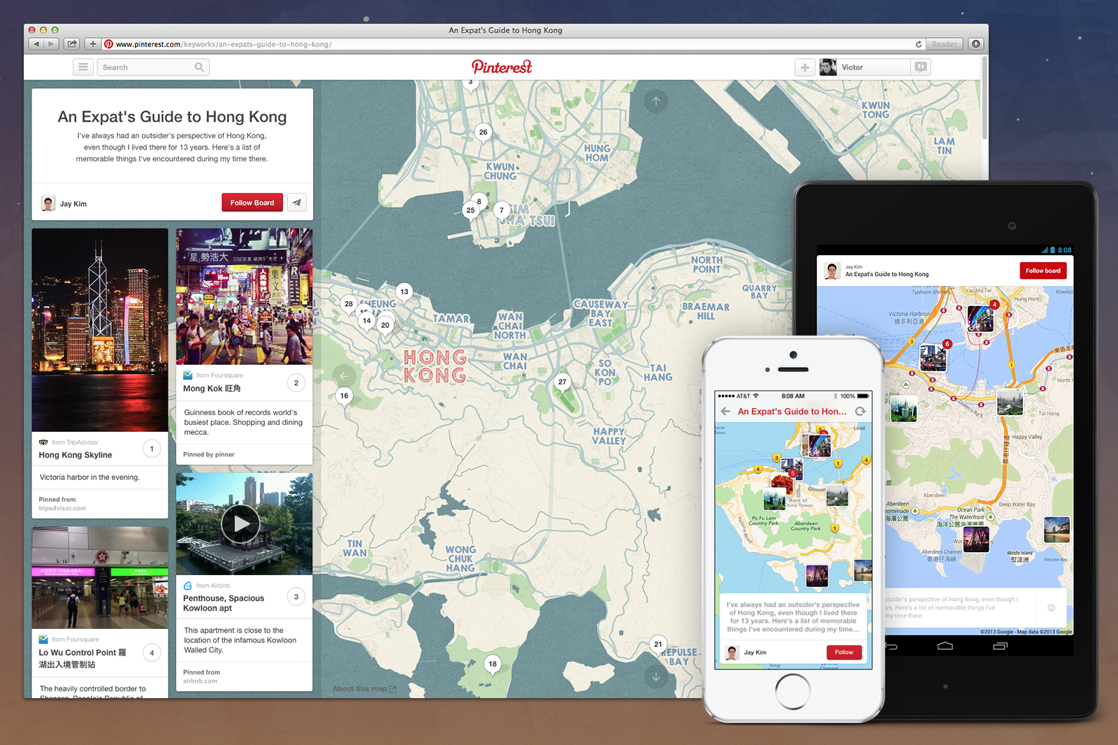 Pinterest Launches Place Pins With Maps Instead Of Boards