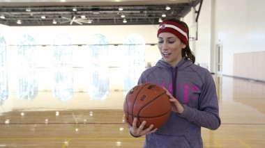 The 94Fifty ball looks like a regular basketball, and meets regulation weight and size, but is packed with technology.