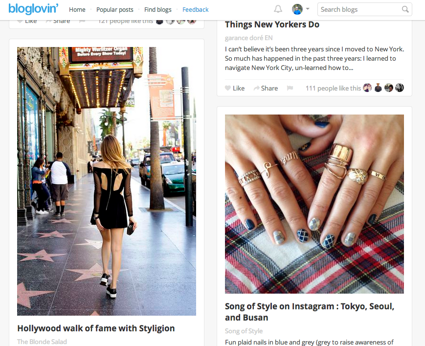 Bloglovin Tripled Traffic This Year as Tumblr-Plus-Reddit