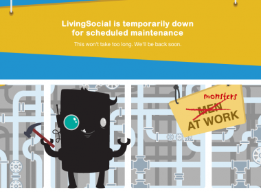 Livingsocial outage goes down
