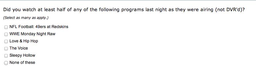 Twitter survey 7