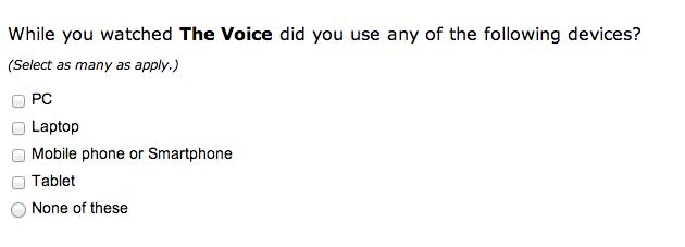 Twitter survey 8