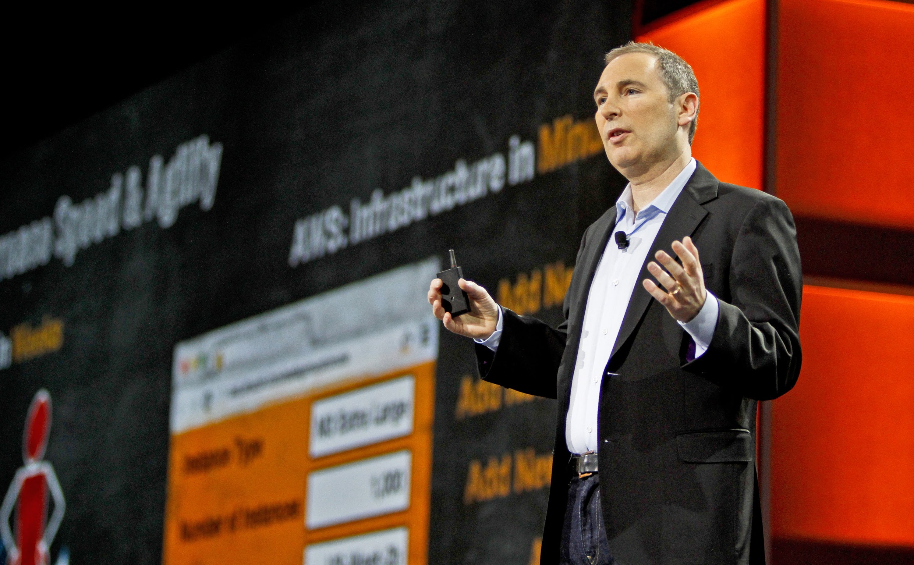 Nine Questions for Andy Jassy, Head of Amazon Web Services