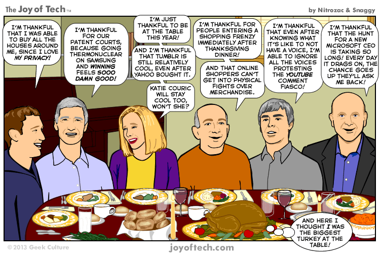 A Techsgiving Feast (Comic)