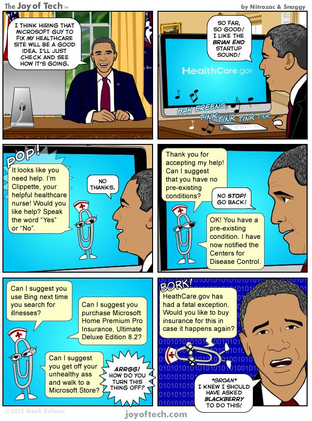 Microsoftie Healthcare.gov