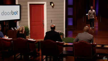 """Shark Tank"" — Give DoorBot $1M for Caller ID for the Doorbell"