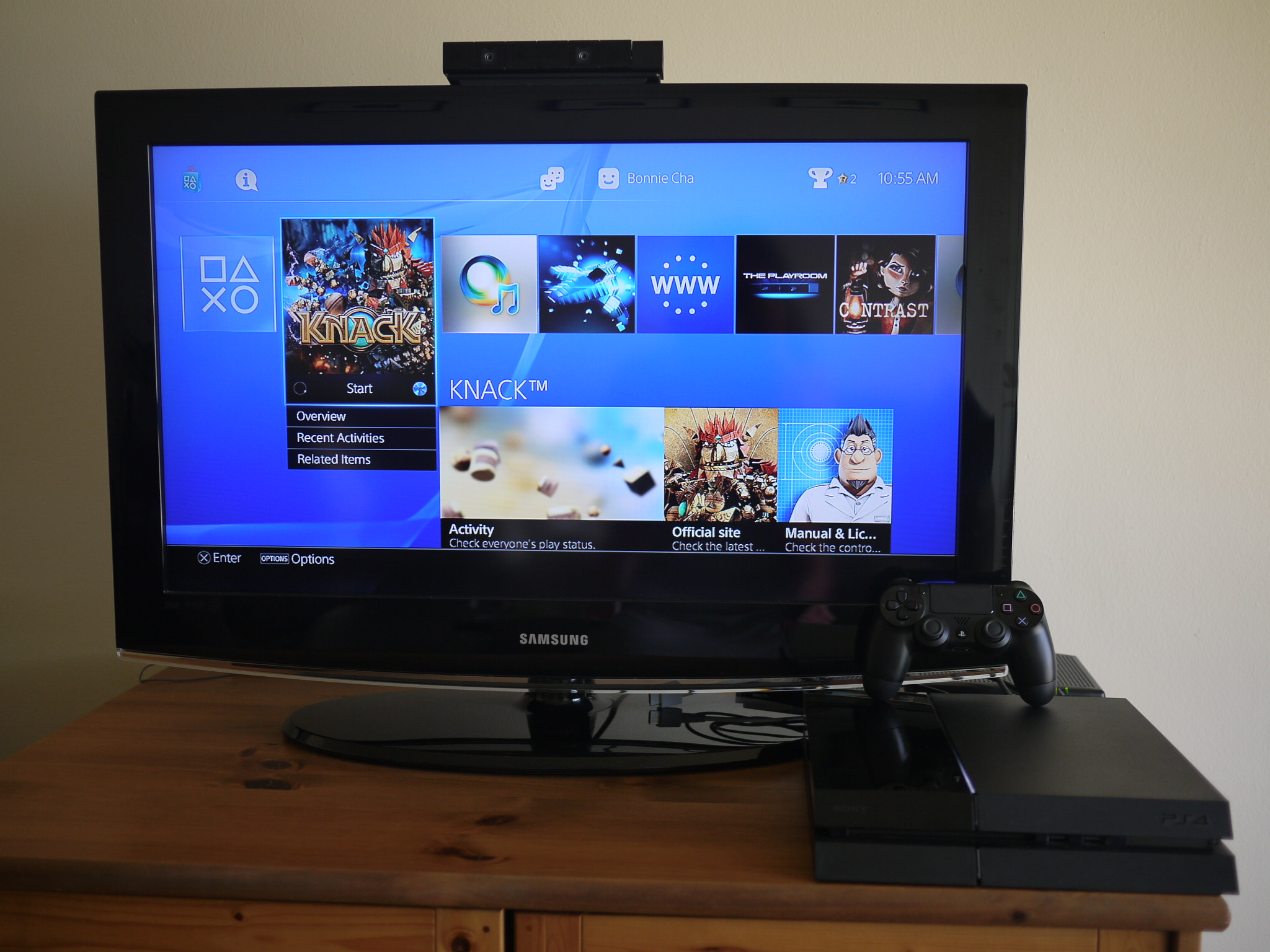 sony playstation 4 review bonnie cha product reviews allthingsd. Black Bedroom Furniture Sets. Home Design Ideas