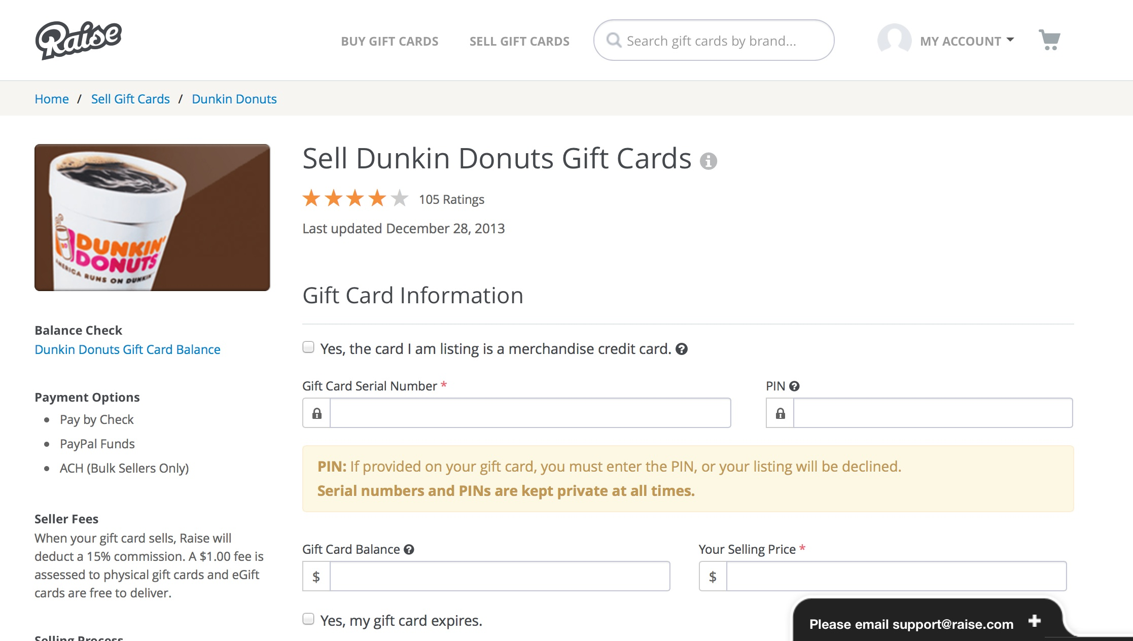 Raise Acts Like A Kind Of StubHub For Gift Cards, Letting You List Your  Unwanted  Print Your Own Voucher