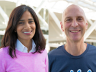 Varsha Rao and Mark Levy