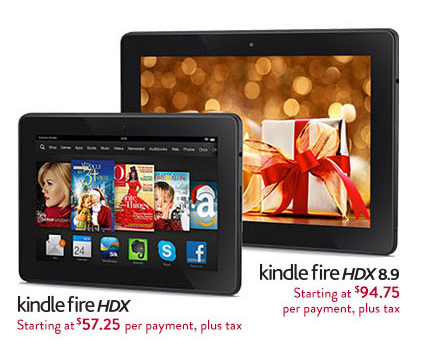 Amazon Really, Really Wants to Sell More Kindle Fire HDX Tablets