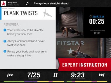 The Other Side of Gamified Fitness: Fitstar Wants to Turn iDevices Into Personal Trainers